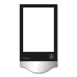 Pricing display aluminium 244 x 370 mm DIN A4 (5 pieces)